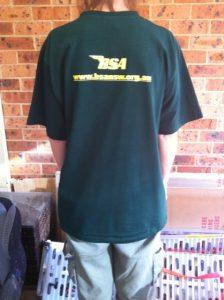 Club Tee Shirt - rear