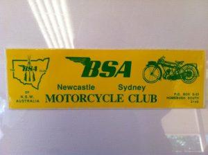 Club car sticker
