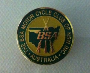 Club metal badge 1